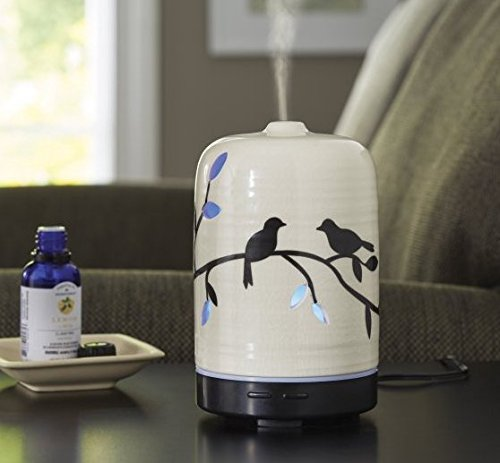 100 ML ESSENTIAL OIL DIFFUSER, Birds and Branches by Better Homes and (Best Generic Home Oil Diffusers)