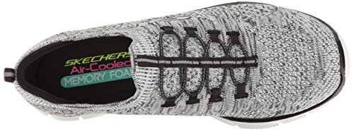 Skechers Sport Women's Empire Sharp Thinking Fashion Sneaker White/Black for sale cheap online with credit card Reuz2P