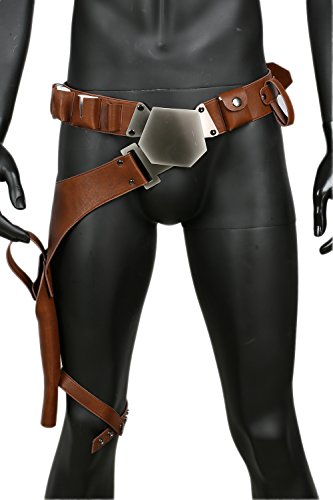 Han Solo Cosplay Belt Holster Pu Leather Costume Accessories Props Update (Han Solo Belt And Holster)