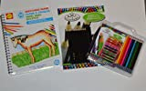 3 Piece Drawing Bundle for New Artist with Alex Sketching Paper, Royal Langnickel Coloring Pencils and Royal Langnickel Sketching Pencils