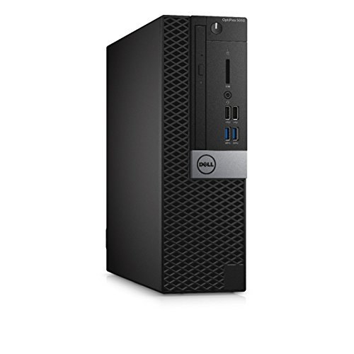 Dell OptiPlex 5050 Small Form Factor Desktop, Intel Core i5-6500, 8GB DDR4 RAM, 256GB SSD, Windows 10 Pro Black (Renewed…