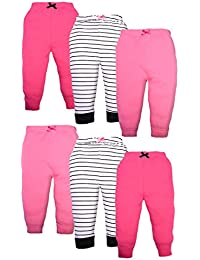 Baby Boys and Girls 6 Pack Tapered Ankle Pants