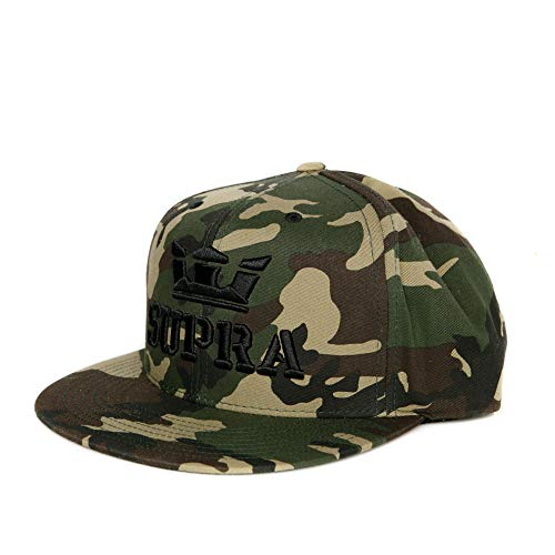 (Supra Mens Above Snap Hat Camo Size One Size Fits All)
