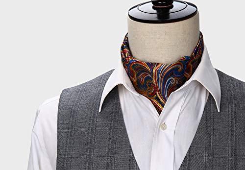 Buy cravat ties for men blue