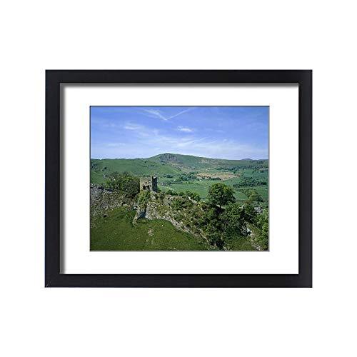 Media Storehouse Framed 20x16 Print of Peveril Castle K041035 ()