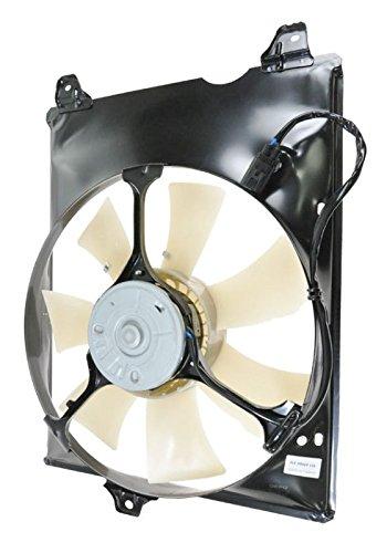 Radiator Cooling Fan Assembly RH Right Passenger Side for 98-03 Toyota Sienna