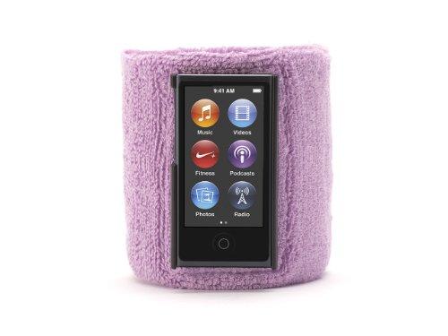 Griffin Purple SportCuff Wristband case for iPod nano (7th