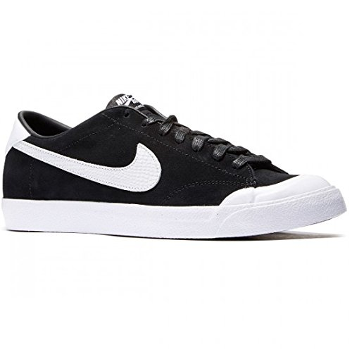 Nike Men's Zoom All Court CK QS Black/White Skate Shoe 8.5 Men US