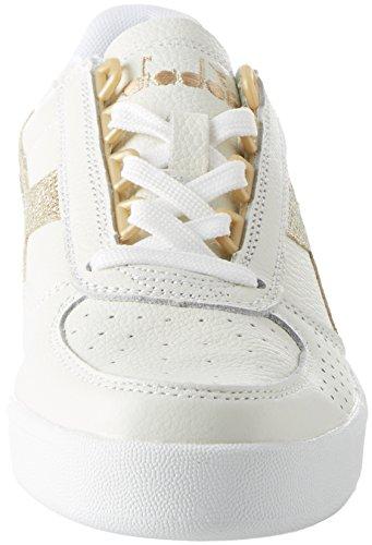 Bianco Donna Oro Elite Sneaker Wn Diadora Bianco B L Aq0XcZw