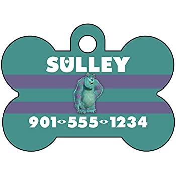 Amazon Com Disney Monsters Inc Sulley Dog Tag Pet Tag Id