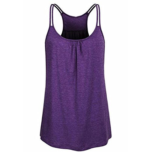 Skirt Beaded Bella (TOPUNDER 2018 Solid Summer Shirt Dress for Women, Scoop Neck Tank Cute Yoga Workout Tops Camis Blouse)