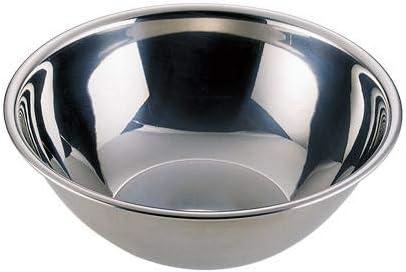 ステンレス製のボール。 UK18-8深型ボール 27cm 030317-005 〈簡易梱包