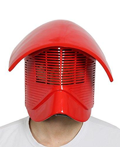 xcoser Elite Praetorian Guard Helmet Deluxe Red Resin Adult Halloween Cosplay Costume Accessory Prop