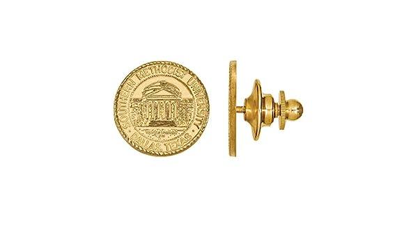 Southern Methodist University Lapel Pin 14K Gold