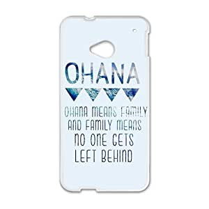 ohana means family Phone Case for HTC One M7