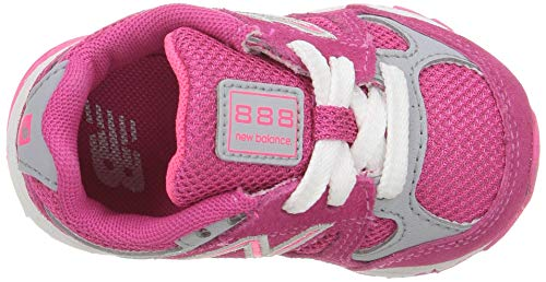 Running Grey New Balance Kids' Zing KJ888 Pink Shoe BWgtqWp