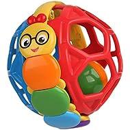 Baby Einstein Bendy Ball Rattle Toy, Ages 3 months +