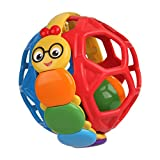 Bendy Ball Rattle Toy (Color may vary): more info