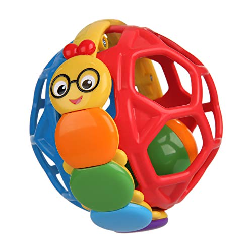Baby Einstein Bendy Ball Rattle Toy, Ages 3 months + from Baby Einstein