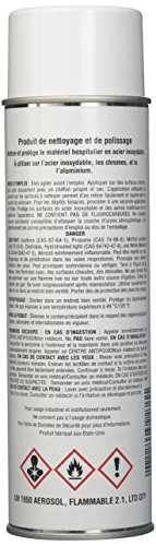 STERIS NM410 Stainless Steel Cleaner, 425G, 1 mm Height, 1 mm Wide, 1 mm Length, Borosilicate GLASS by Steris Corporation (Image #2)