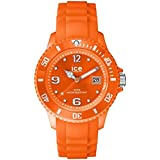 ICE-Watch - Ice-Forever Trendy - Neon Orange - Unisex - Montre Mixte Quartz Analogique - Cadran Orange - Bracelet Silicone Orange - SI.NOE.U.S.14