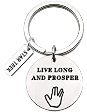 MAOFAED Movie Inspired Gift Friendship Gift Live Long and Prosper Fandom Gift