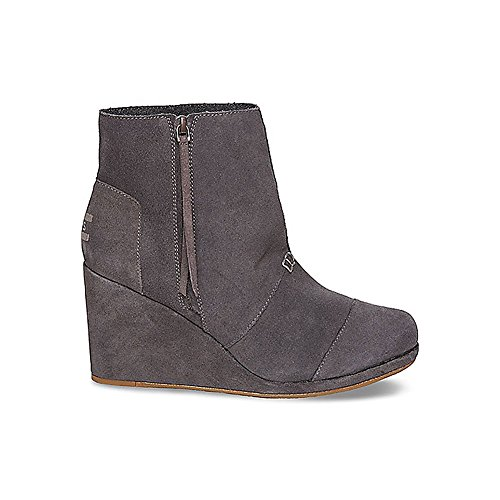 Women's TOMS 'Desert' Wedge High Bootie, Size 6 M - Grey