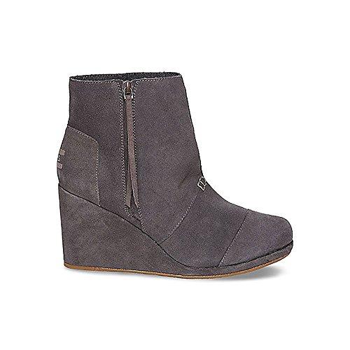 Women's TOMS 'Desert' Wedge High Bootie, Size 6 M - Grey