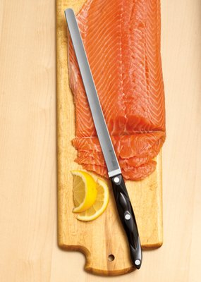 Cutco Classic Black Handle Salmon Knife