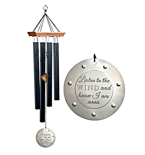 Craftsman Chime - CRAFTSMAN Memorial GIFT Style Wind chime Gift In Sympathy loss Copper Rush Shipping for Funeral Loss in Memory of Loved One Listen to the Wind Memorial Garden Remembering a loved one