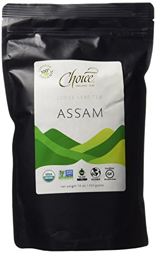 Choice Organic Teas Black Tea, Loose Leaf (1 Pound Bag), Decaffeinated Black
