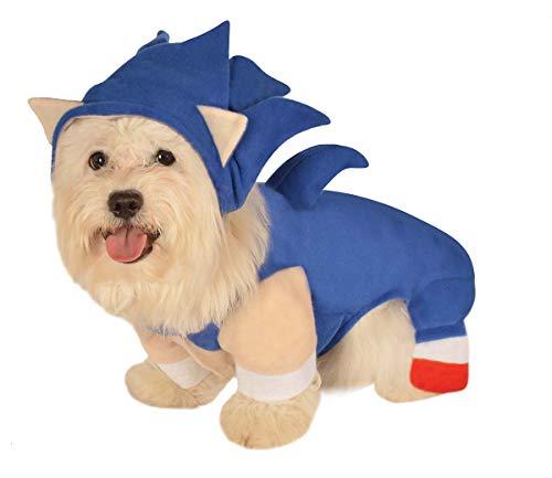 Faerynicethings Pet Sonic The Hedgehog Costume - Medium