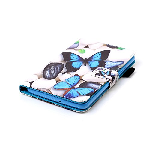 Fundas para Tablets Galaxy Tab A 7.0 SM-T280Sunroyal ® PU Leather Cuero Cover Ultra Slim Lightweight Smart-Shell para Samsung Galaxy Tab A 7.0 SM-T280Book Style Tirón Cáscara Caja del Tablet Con Fun A-06