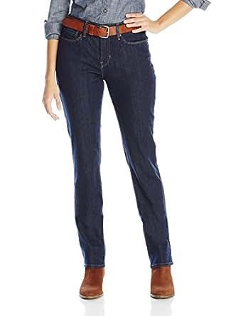 Levi's Women's 525 Perfect Waist Straight Leg Jean, Darkest Ace, 27/4 Medium