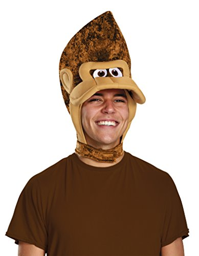 Bowser Costume Accessories (DIS98828AD Donkey Kong Headpiece Adult)