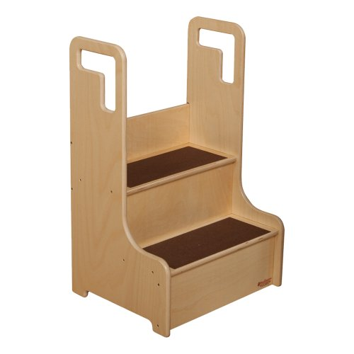 Sprogs Wooden Step Stool - Unassembled, Natural, SPG-5042 by Sprogs