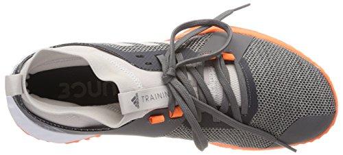 adidas Herren Crazytrain Pro 3.0 TRF Fitnessschuhe Beige (Chalk Pearl/Hi-Res Orange)