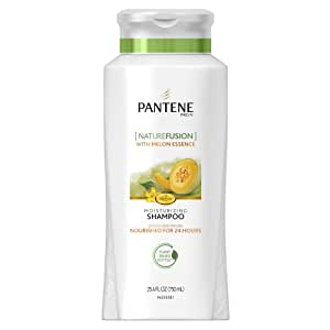 Pantene Pro-V Nature Fusion Moisturizing Shampoo with Melon Essence, 25.4 Fluid Ounce (Pack of 2) (packaging may vary)