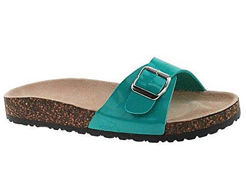 SFO - Sandalias de vestir de Material Sintético para mujer Turquesa - turquesa