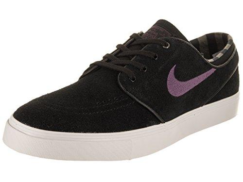 Nike Heren Zoom Stefan Janoski Zwart / Pro Paars Ridgerock Skate Schoen 8,5 Mannen Ons