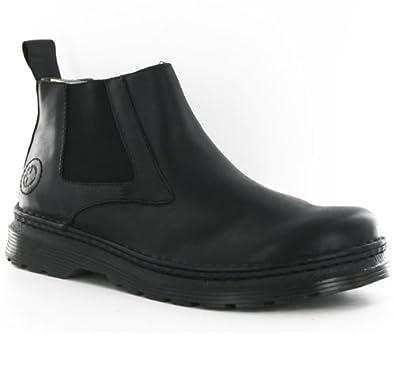 0a1693e28cf7 Dr.Martens Milton Black Chlesea Mens Boots Size 9  Amazon.co.uk ...