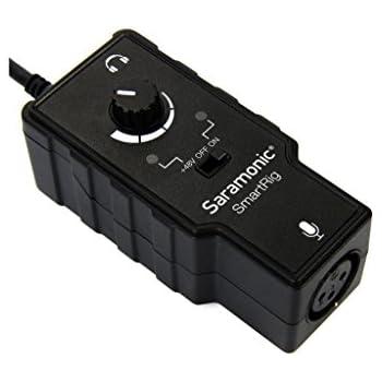 Saramonic SmartRig Audio Adapter for Smartphones (Black)