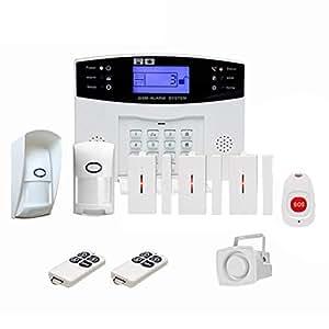 Crylee gsm Sistema de Alarma antirrobo inalámbrico para el ...