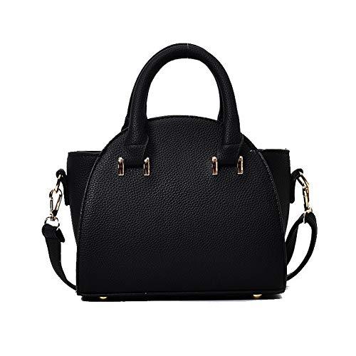 Bags Gray Black Bags FBUBC214528 Women's Crossbody Tote AllhqFashion Pu Casual Yfqf4w
