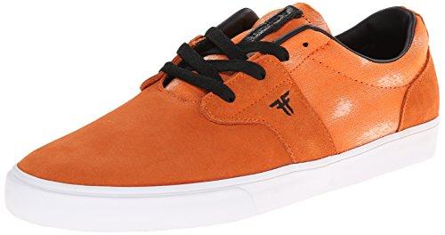 FALLEN CHIEF XI BURNT ORANGE ACID THOMAS Signature Skate Shoes
