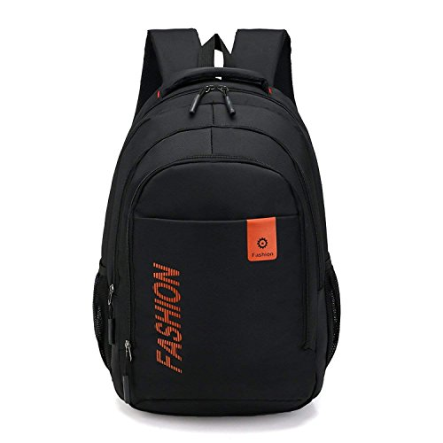 Fashion multi-purposelarge-capacity casual backpack waterproof wear Oxford backpack campus student (Business Casual Saddlebag)