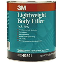 3M Lightweight Body Filler, 3.5 Kg, (05801)