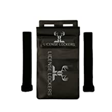 LICENSE LOCKERS Hunting License Holder - Gun & Bow Attachable Hunting License & Game Tag Holder - WATERPROOF - Easily attach to Rifle - Shotgun - Crossbow – Bow – The BEST Hunting Gift