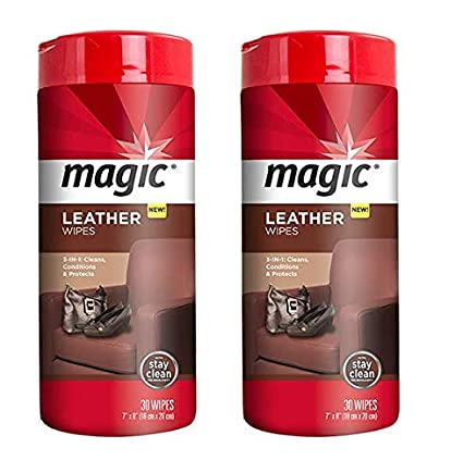 a815d54f2d6f Amazon.com  Magic Leather Wipes  2 Pack  Clean Condition UV ...
