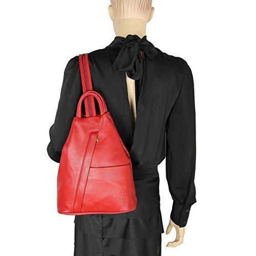 Sac Weiß ca OBC cm BxHxT Blanc Couture main pour Beautiful dos femme Rouge 25x30x11 à porté au Only qUgUp7Ot